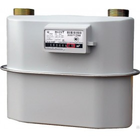 Газовый счетчик ЭЛЬСТЕР ВК G-16 Т ЛЕВЫЙ 280 мм. (с термокоррекцией)