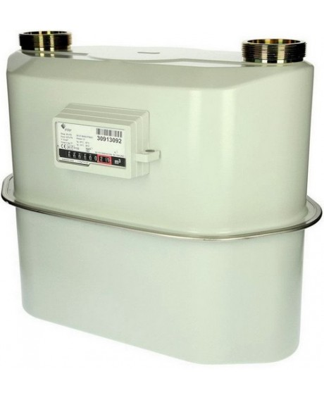 Газовый счетчик ЭЛЬСТЕР ВК G-25 ЛЕВЫЙ 335 мм. (без термокоррекции)