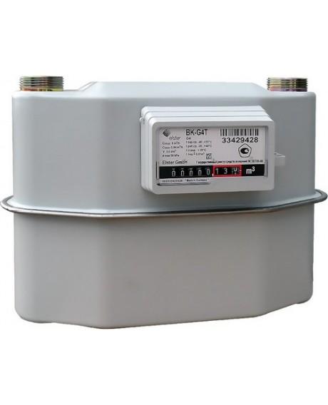 Газовый счетчик ЭЛЬСТЕР BK G-4T (250 ММ) левый (с термокоррекцией) 2019 г.