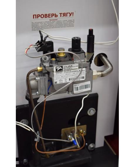 Газовый котел напольный Лемакс Лидер-16 (N) чугунный теплообменник