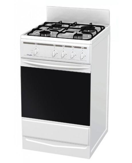 Плита газовая Терра / Лада 14.120 белая щиток