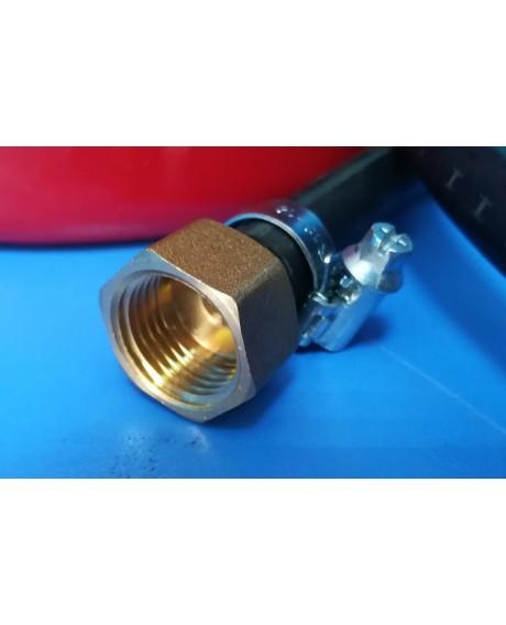 Латунный фитинг 1/2 - 10 мм.