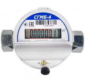 Газовый счетчик квартирный СГМБ 4