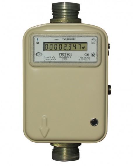Газовый счетчик УБСГ 001 G10