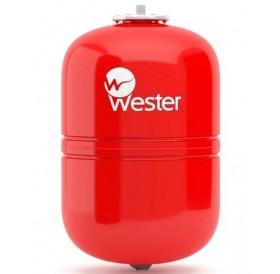 Расширительный бак Wester WRV 12 л. (вертикальный, красный)