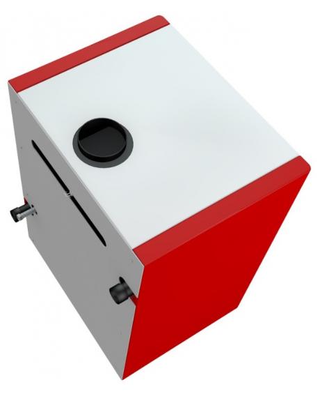 Газовый котел напольный Лемакс Лидер-35 (N) чугунный теплообменник
