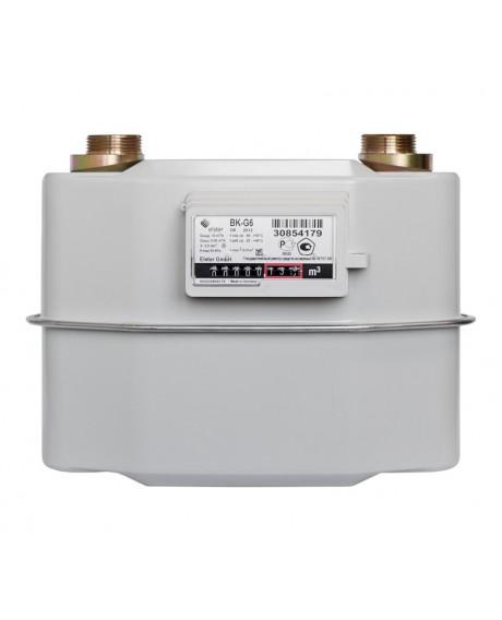 Газовый счетчик ЭЛЬСТЕР ВК G-6 ЛЕВЫЙ (без термокоррекции)