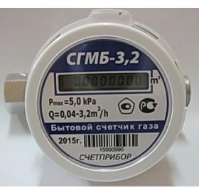 Газовый счетчик квартирный СГМБ 3,2
