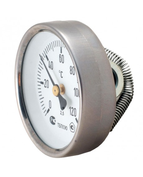 Термометр биметаллический (с пружиной)