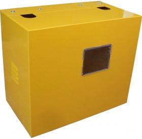 Шкаф для газового счетчика 250 мм (металл.)